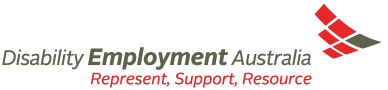 Disability Employment Australia. Represent, Support, Resource